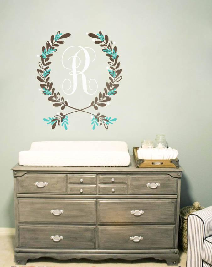 Nursery wall decorations