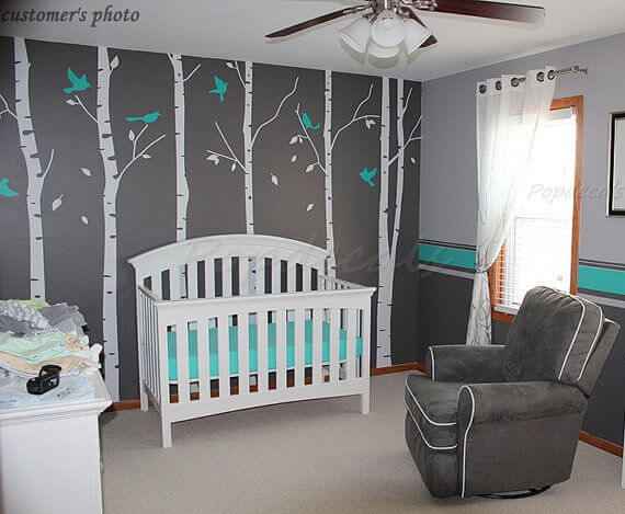 Nursery Wall Decal Set