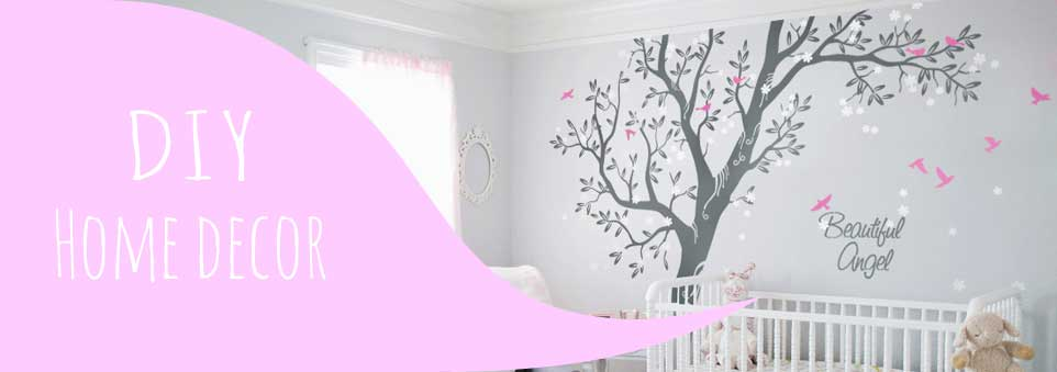 Baby Room Wall Decorations And Custom Wall Designs